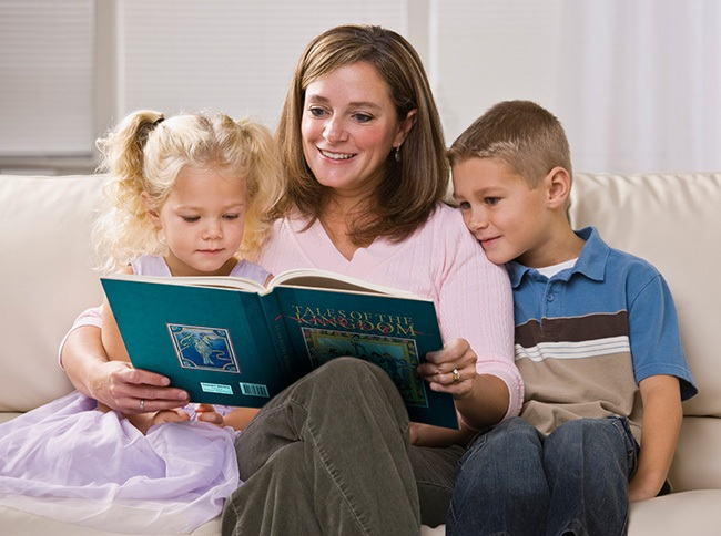"""Reading """"Tales"""" Together"""